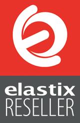 Logotipo Elastix Reseller - DONN Soluções